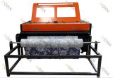 Máquina de láser de tela y cuero barata con dispositivo de alimentación automático