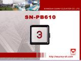 Edelstahl-Drucktasten (SN-PB610)