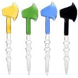 Стеклянная крышка Dabber карбюратора инструмента ЛИМАНДЫ ногтя оси для труб стеклянной воды куря