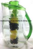 Brocca di plastica di Infuser della frutta con colore su ordinazione