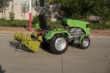Máquina segador de patata, usada para Tracotor que recorre y el mini alimentador, buen funcionamiento, 4ums-600 modelo
