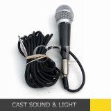 Микрофон профессионала Sm58 динамический связанный проволокой для Karaoke