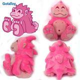 고품질 주문 견면 벨벳 장난감 고릴라 박제 동물 장난감