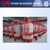消火システムのための熱い販売の縦の泡のぼうこうタンク