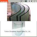 vetro della costruzione di sicurezza di 3-19mm, vetro Tempered, vetro di laminazione, vetro piano & curvo del reticolo per la parete/rete fissa/divisorio/acquazzone con SGCC/Ce&CCC&ISO