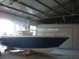 8.5m Fiberglas-Bewegungsboot mit Teakholz-Fußboden
