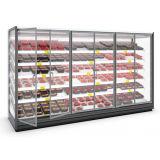 Fabrik-direkte Zubehör-Größen-wahlweise freigestellte aufrechte Getränkebildschirmanzeige-Kühlvorrichtung
