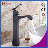 Hoher Handfeuchtigkeit Rubbered Bronzebadezimmer-Bassin-Wasser-Mischer-Hahn