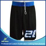 Os Shorts feitos sob encomenda do futebol da impressão do Sublimation para o futebol ostentam a equipe do jogo