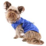 2017 heiße Verkaufs-Haustier-Kleidung passte Firmenzeichen-Hundehemden, unbelegte Hundekleidung an