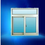 Finestra poco costosa della lega di alluminio del singolo rivestimento bianco di vetro