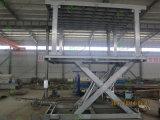 De Lift van de Auto van de Schaar van de Garage van de kelderverdieping met Dak