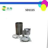 Forro SD1115 do cilindro do tipo de Taian das peças de motor Diesel