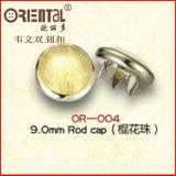 Qualità del tasto dello schiocco della lega per caratteri (OR-004) del polo di qualità della Oeko-Prova