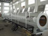 PVC二重壁の波形の管の放出ライン