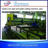 Tipo macchina del cavalletto di buona qualità di taglio alla fiamma del plasma di CNC per il tubo d'acciaio ed il piatto