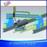 CNC van de Brug Kr-Fy de Scherpe Machine van de Schuine rand van de Plaat van de Vlam van het Plasma