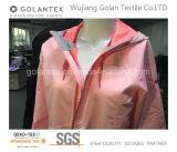 Tela del telar jacquar Glad002 con el efecto del Doble-Color para la chaqueta/la capa al aire libre