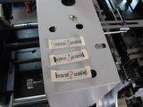 ラベルの切断および折りたたみ機械のための端のフォールドのツール
