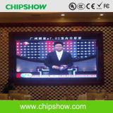 Chipshow P6.67 LED interior em cores de exibição de Publicidade