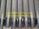 Tubo del tubo alettato del acciaio al carbonio o dell'acciaio inossidabile, tubo di aletta di alluminio a spirale di chilolitro G Ll