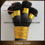La meilleure main de trame de vente de cheveu brésilien attachée