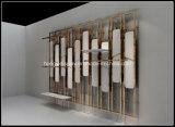 Prateleira de indicador da parede do metal para a decoração interior da loja