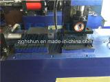 Alta eficiencia automática extremo del tubo que forma la máquina
