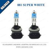 Lámpara halógena de 881 Lmusonu Coche 12V 27W Blanco Super
