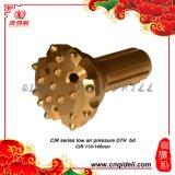 Guter des QualitätsDTH niedriger Bohrmeißel Luftdruck-CIR110-140