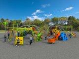 屋外の運動場の多機能の子供の適性装置HD16-240A