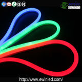 UL de RoHS de la CE de 10*24 24V DEL Flex Neon Tube Light Multicolor 50m