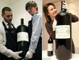 Bottiglia di vetro blu del vino, bottiglia di vino 700ml, bottiglia di whisky
