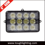 6X4in 60W John Deere Rectangular LED Combine Bovenkant van de Koplamp van de Cabine