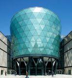Claro vidrio templado y vidrio templado de edificio y muebles (JINBO)