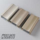 Perfil de alumínio da extrusão da construção do material de construção