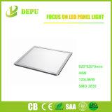 600x600 40W de pantalla plana LED Luz, Ugr<19, 120 lm/W