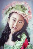 Portrait Gemälde von schönen Mädchen