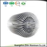 Espulsione di alluminio d'anodizzazione del dissipatore di calore del fornitore LED con ISO9001