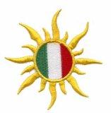 Bordados Patches bandeira da Sun