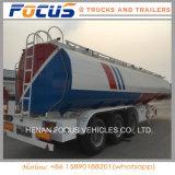 50000 litros de tanque del combustible líquido de la gasolina/acoplado diesel del carro para la venta