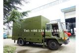 800のKwの携帯用トレーラーの発電機セットのディーゼル発電機セット