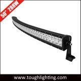 Meilleure vente incurvée à double rangée de 50 pouces 288W Offroad CREE LED Barres d'éclairage
