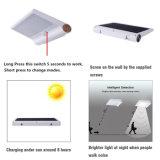 Lampe solaire imperméable à l'eau extérieure légère solaire décorative solaire de l'aluminium 42 DEL de lampe de détecteur de mouvement de lumière de jardin