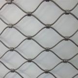 Het Schermen van de Dierentuin van de Kabel van het roestvrij staal Kabel Geweven Dierlijk Netwerk