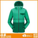 양털 형식 다채로운 Hoody 스포츠 재킷