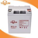 batería de plomo solar de 12V 24ah para la Sistema Solar portable
