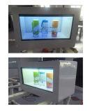21,5 pouces LCD transparent boîte vitrine de présentation TFT LCD annonce vidéo Player affichage de publicité commerciale