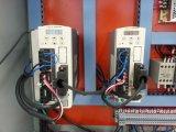 Soldadura da porta do indicador do PVC e máquina da limpeza