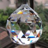 De gefacetteerde Tegenhanger van het Gordijn van het Kristal van de Tegenhanger van de Ballen van de Kroonluchter van het Glas van Kristallen bollen